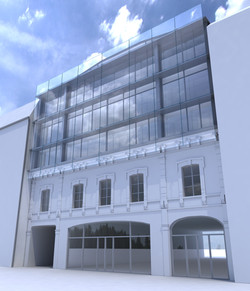 Projet façade - visuel jour
