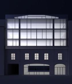 Projet façade - visuel nuit