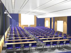 Sciences Po Paris - amphi vue 4 (3D)