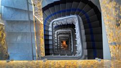 Escalier crée