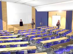 Sciences Po Paris - amphi vue 2 (3D)