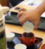 狭山茶試飲