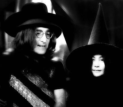 Yoko Ono and John Lennon. Rock and Roll Circus by Andrew Maclear