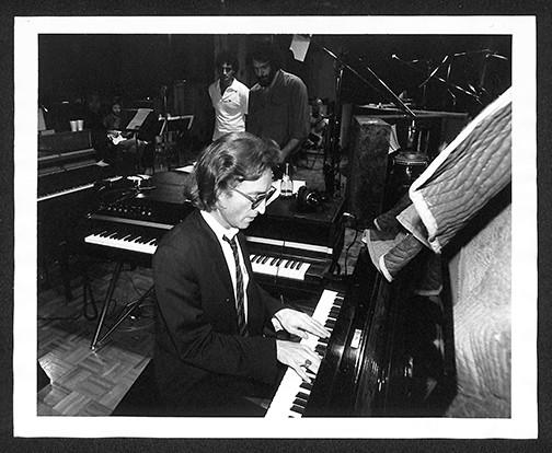 John Lennon - At Piano The Hit Factory, NYC 1980