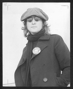 John Lennon  Sony Title page , NYC 1974