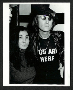 John Lennon & Yoko Ono - You Are Here T-shirt  Attica Benefit at The Apollo. NYC, 1971