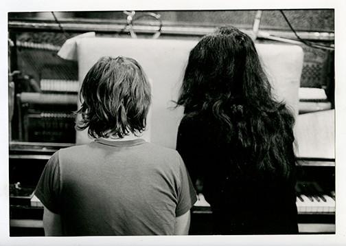 Yoko Ono & John Lennon  Record Plant, NYC 1972