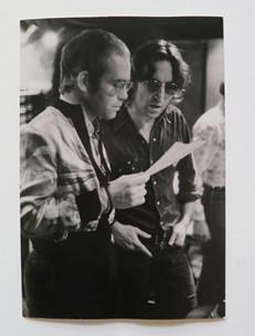 John Lennon & Elton John - Working Together Record Plant, NYC. 1974