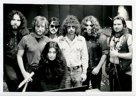 Elephant's Memory With John Lennon & Yoko Ono Record Plant,  NYC 1970