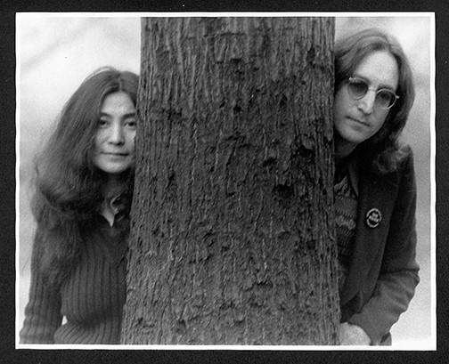 John & Yoko Central Park, NYC 1972