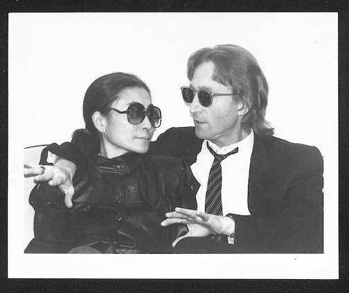 John Lennon & Yoko Ono Conversation  Hit Factory Couch 1980