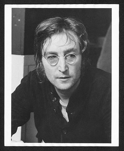 John Lennon  Face Butterfly Studios. NYC, 1972