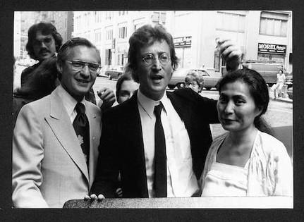 John Lennon - With Leon Wildes & Yoko Ono NYC, 1976