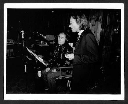 John Lennon and Yoko Ono  The Hit Factory, NYC 1980