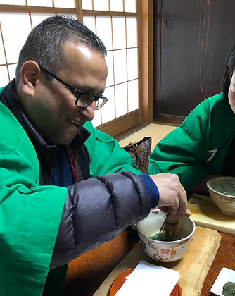"""Oct.31 A """"full course"""" program for anyone to learn about green tea"""
