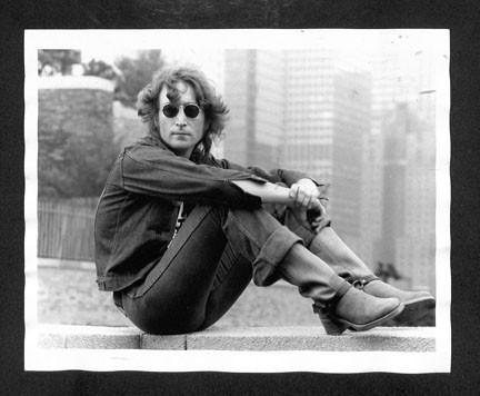 John Lennon - On Wall New York City 1974