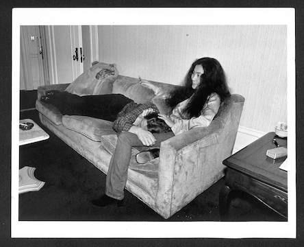 John Lennon and Yoko Ono resting Plaza Hotel. NCY, 1997