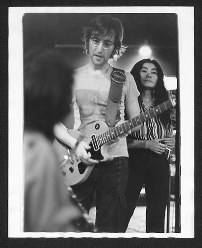 John Lennon & Yoko Ono  Butterfly Studio. NYC, 1972