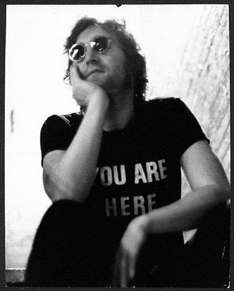 John Lennon You Are Here  Fillmore East. NYC, 1972