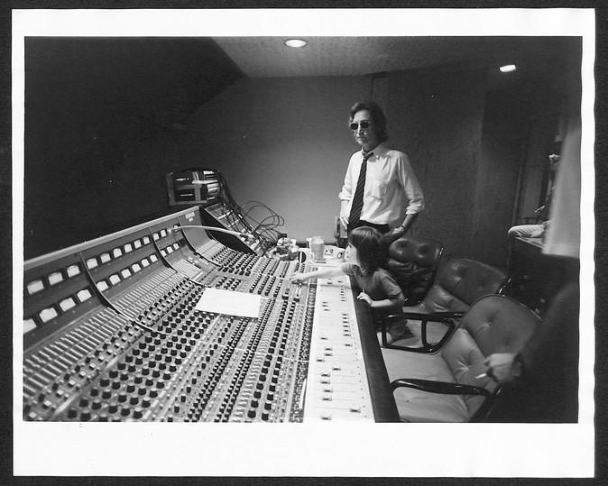 John Lennon & Sean Lennon Hit Factory. NYC, 1980