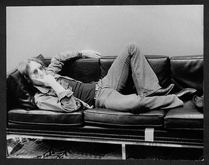 John Lennon - Couch Record Plant. NYC, 1972