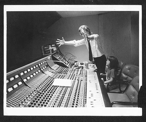 John Lennon & Sean Lennon - In Studio The Hit Factory, NYC 1980