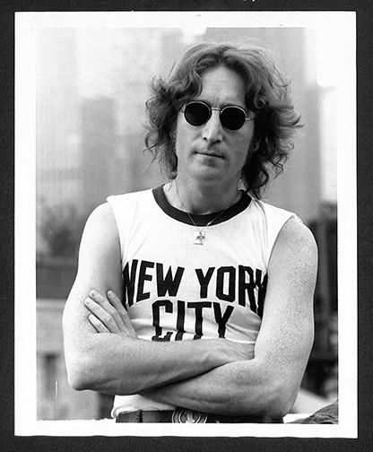 John Lennon NYC T-Shirt NYC, 1974