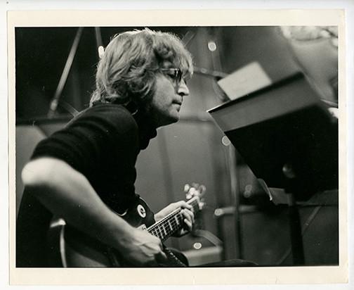 John Lennon Record Plant, NYC 1972