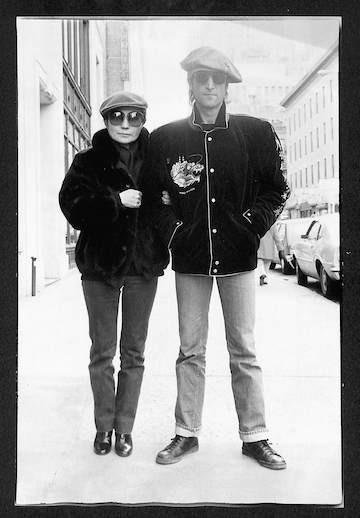 John Lennon & Yoko Ono  44th Street, NYC 1980