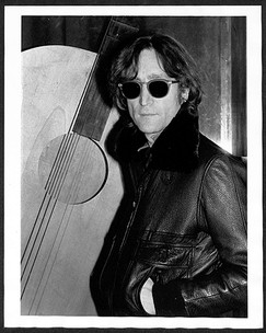 John Lennon - Black Leather Jacket The Record Plant, NYC 1980