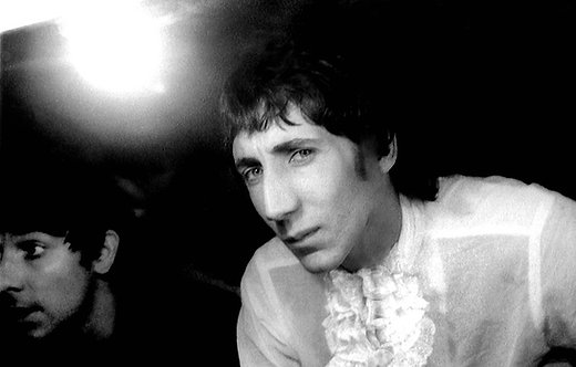 The Who by Andrew Maclear. Dressing room, London. 1968.