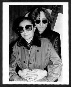 John Lennon & Yoko Ono Record Plant, NYC 1980