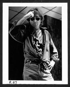 John Lennon - Rockerciser T- Shirt The Hit Factory, NYC.1980
