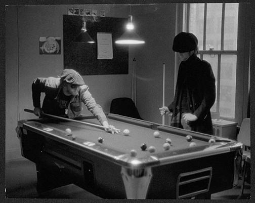 John Lennon & Harry Nilsson - Playing Pool Record Plant East, NYC 1974