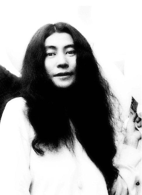 Yoko Ono by Andrew Maclear
