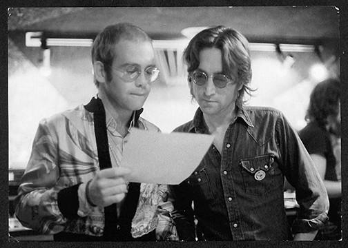 John Lennon & Elton John  Record Plant, NYC,1974