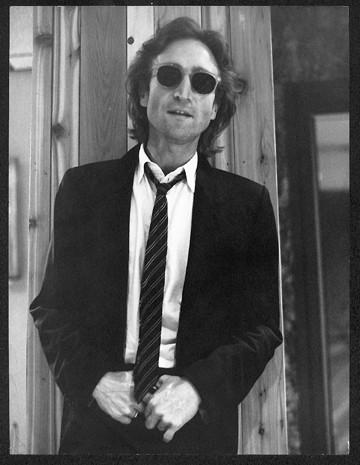 John Lennon - Standing/Dark Glasses Hit Factory. NYC, 1980
