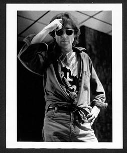 John Lennon - Rockerciser T- Shirt The Hit Factory. NYC, 1980