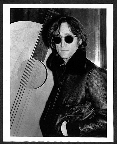 John Lennon - Black Leather Jacket Record Plant, NYC December 1980