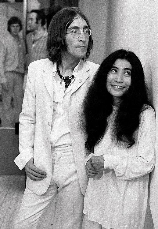 John and Yoko  y Andrew Maclear. Fraser Gallery. 1968