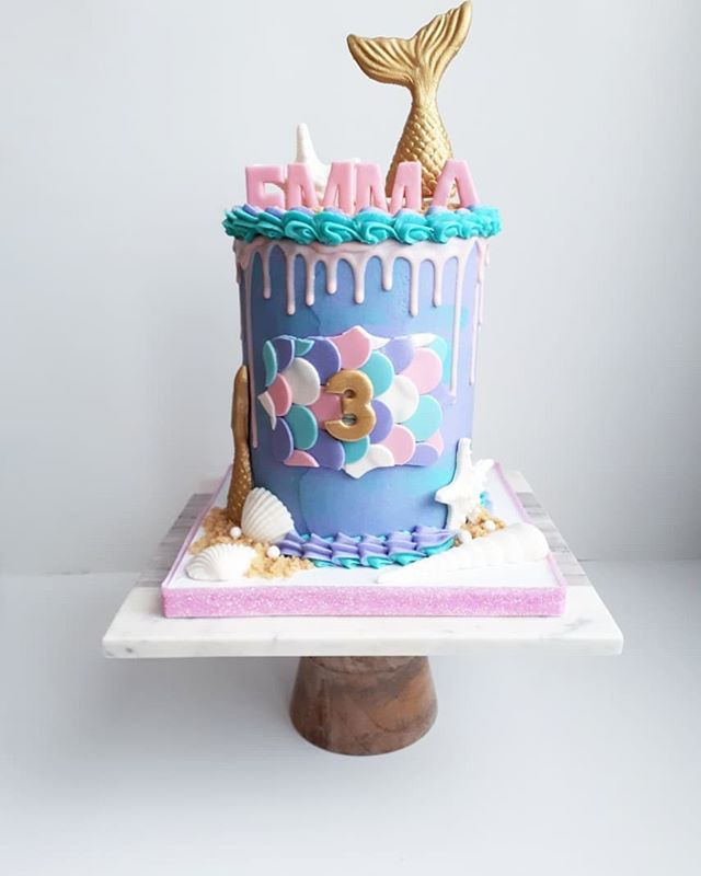 🐚NOW TRENDING🐚__MERMAID CAKE