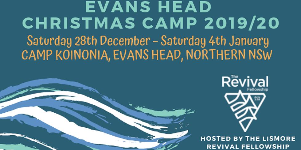 Evans Head Christmas Camp 2019/2020