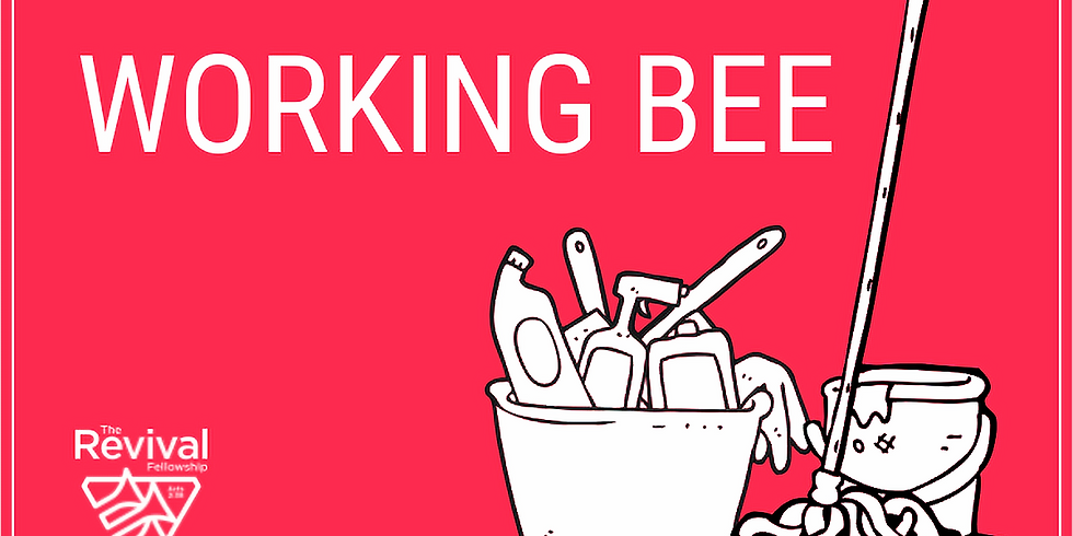Working Bee at the Hall