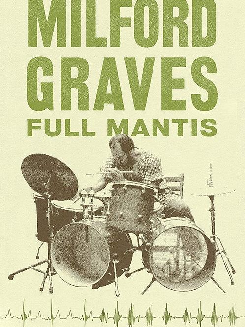 MILFORD GRAVES Full Mantis DVD