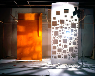 Orange with Shadows from White with Hole (2009)