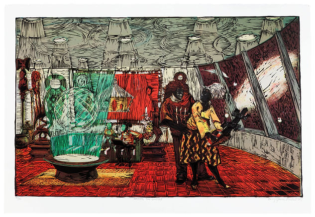 Kerry James Marshall_Keeping the Culture