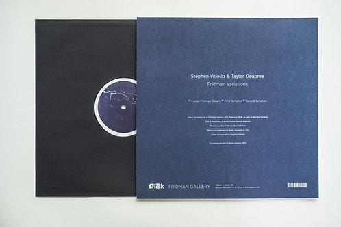 "Stephen Vitiello & Taylor Deupree ""Fridman Variations"""