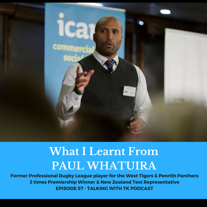 What I Learnt From Paul Whatuira