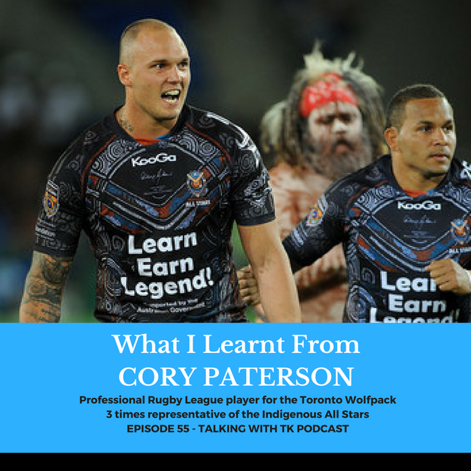 What I Learnt From Cory Paterson