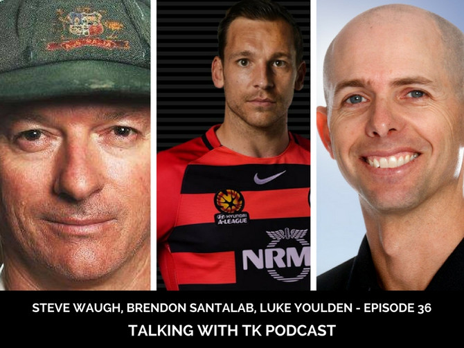 Episode 36 - Steve Waugh, Brendon Santalab, Luke Youlden